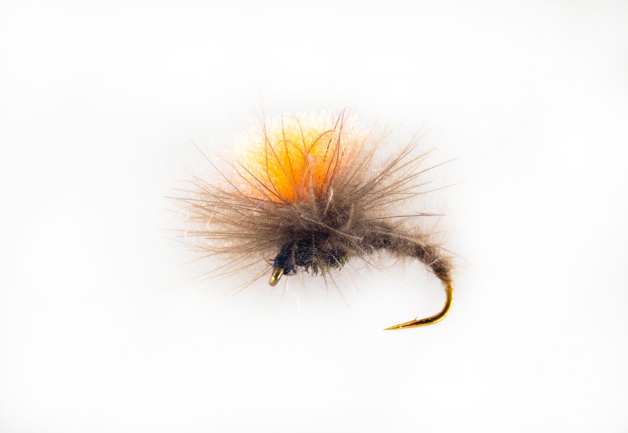 Indicator klinkhammer trout flies